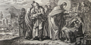 JEsus cures the man born blind