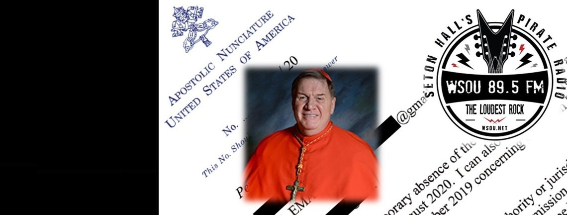 Nuncio Informed Cdl. Tobin Last Year About Satanic Music Broadcast Under His Authority