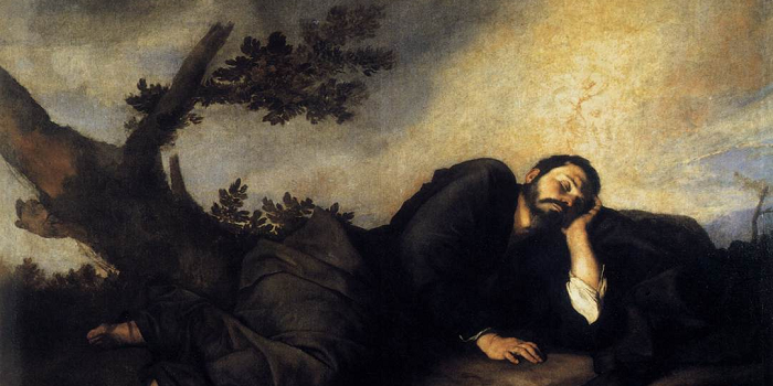 Jacob's Dream (1639) by José de Ribera, at the Museo del Prado, Madrid